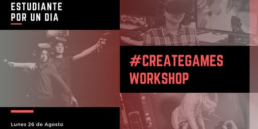 #CreateGames Workshop