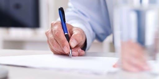 Writing a Business Plan (XBUS 195 01)