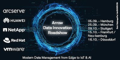 Arrow Data Innovation Roadshow in Düsseldorf