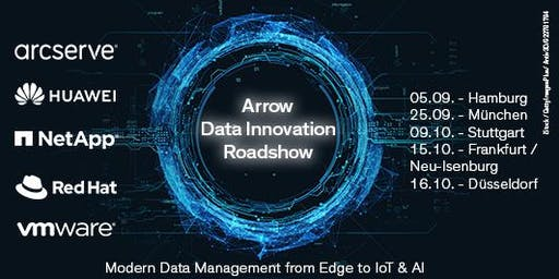 Arrow Data Innovation Roadshow in Stuttgart