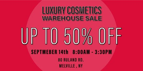 Special Invitation Warehouse Sale - SEPTEMBER 14, 2019 tickets