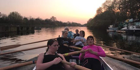 Thursday 22nd August 1845-2000hrs - Richmond open rowing session tickets