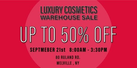 Special Invitation Warehouse Sale - SEPTEMBER 21, 2019 tickets
