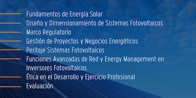 Curso Perito especialista en tecnología solar fotovoltaica