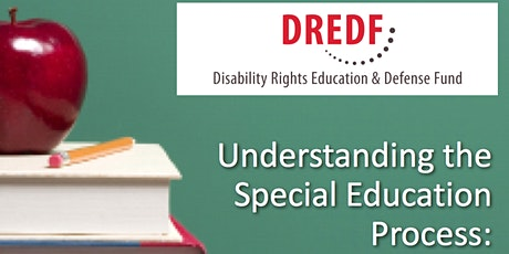 FREE: Understanding Special Education Registration Required  tickets