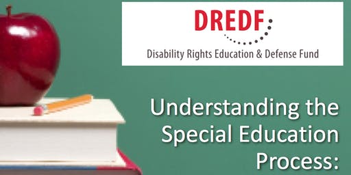 FREE! Understanding Special Education Registration Required (Evenings - 2019-20)