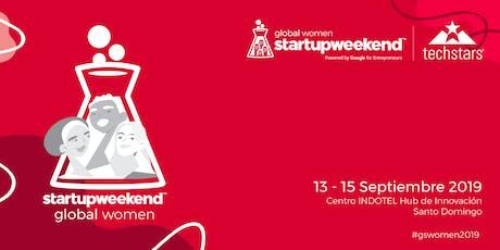 Techstars Global Startup Weekend Santo Domingo Women  entradas