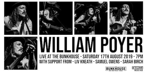 William Poyer live at The Bunkhouse