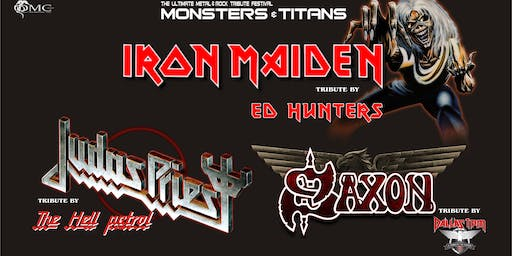 Monsters & Titans tribute to Iron Maiden / Judas Priest / Saxon