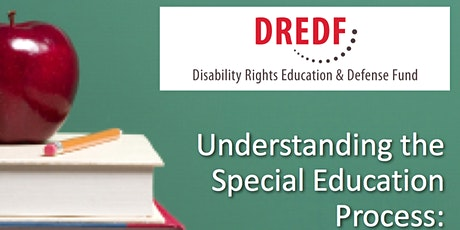 FREE! Understanding Special Education - Registration Required (Daytime: 2019-20) tickets