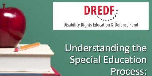 FREE! Understanding Special Education - Registration Required (Daytime: 2019-20)