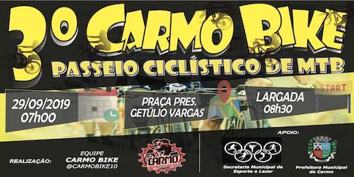 3º Carmo Bike - Passeio Ciclístico de MTB