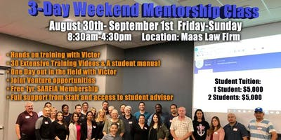 3-Day Weekend Mentorship Class with Victor Maas