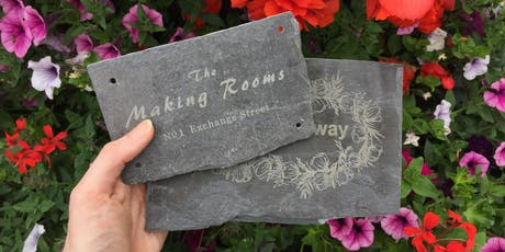 Make Your Own Slate Sign tickets