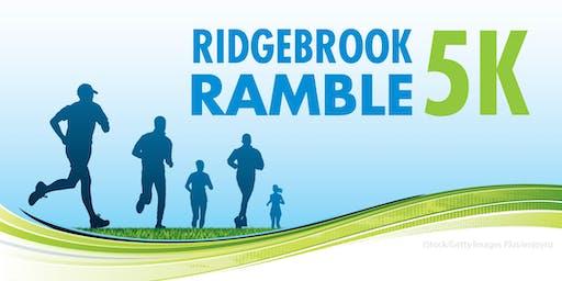 2019 Ridgebrook Ramble: 5k Race and 1-Mile Fun Run