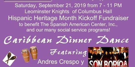Caribbean Dinner Dance/Hispanic Heritage Month Benefit for SAC tickets