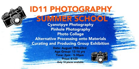 ID11 Photography Summer School tickets