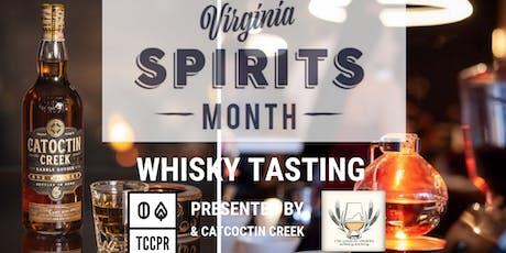 COVA Whisky Society present Whisky Tasting w/ Catoctin Creek tickets