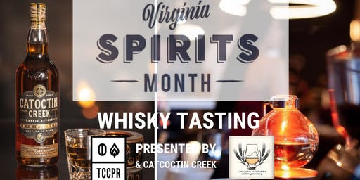 COVA Whisky Society present Whisky Tasting w/ Catoctin Creek
