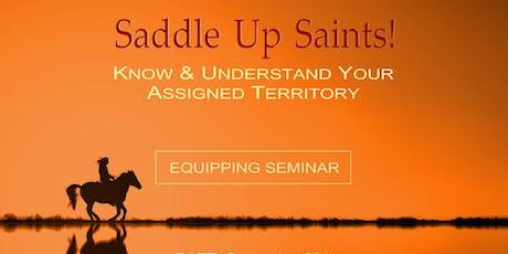 Saddle Up Saints II  tickets