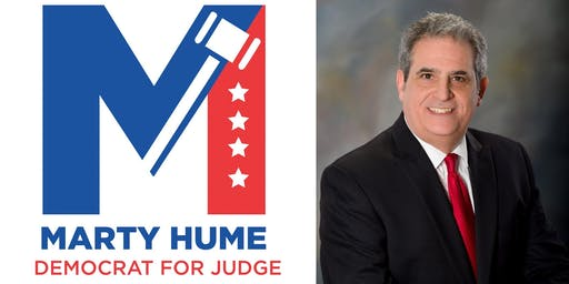 Marty Hume Democrat for Judge Fundraiser