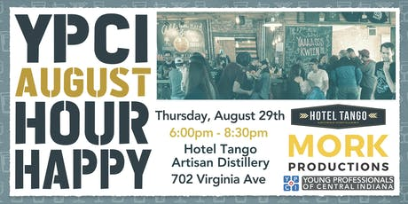 YPCI: August Happy Hour at Hotel Tango, pres. by Mork Productions tickets