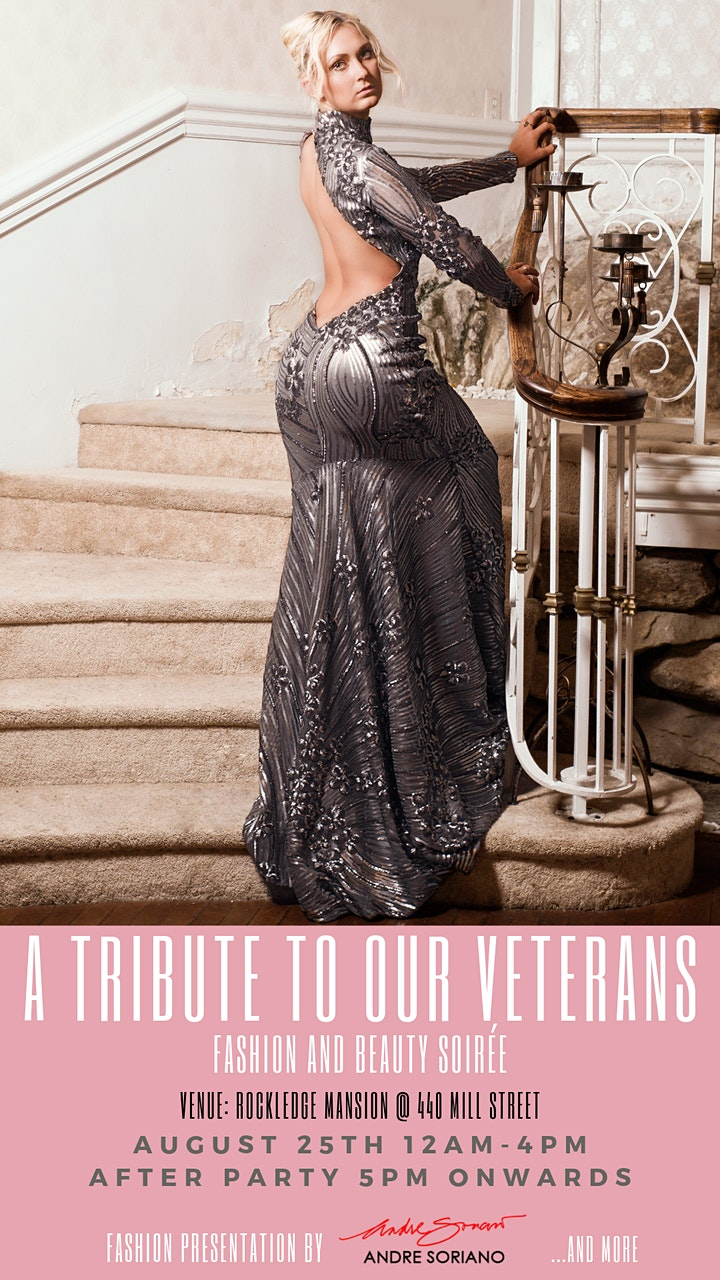 Fashion & Beauty Soiree for Veterans (2-4PM) image