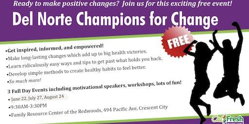 Del Norte Champions for Change III