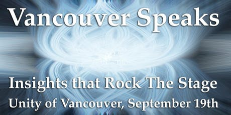 Vancouver Speaks at Unity of Vancouver tickets