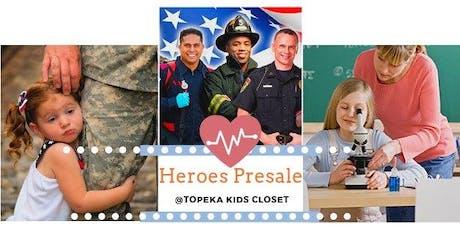 Topeka Kids Closet Heroes Presale tickets
