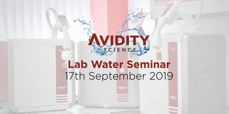 Avidity Science Laboratory Water Seminar 2019 tickets