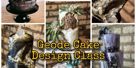 Geode Cake Design Class - September 9 Evening tickets