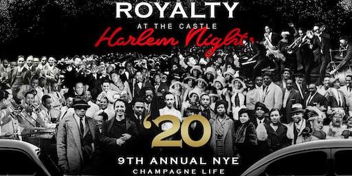 Harlem Nights Royalty NYE 2020 Casino & Fireworks Watch {Mega Event}