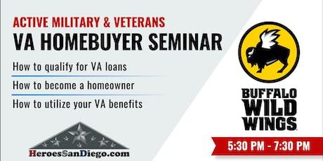 San Diego Military & Veterans VA Homebuyer Seminar  tickets