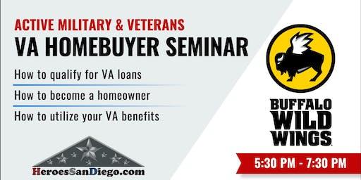 San Diego Military & Veterans VA Homebuyer Seminar