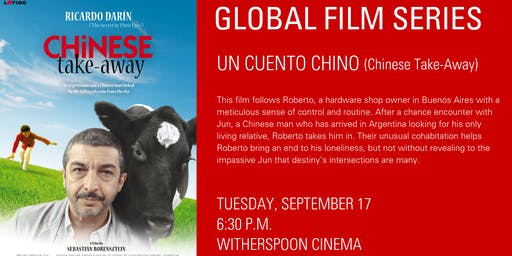 Global Film Series: Un Cuento Chino (Chinese Take-Away)