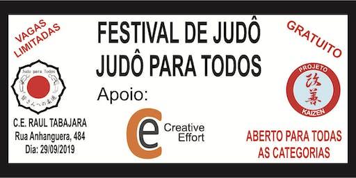 FESTIVAL JUDÔ PARA TODOS
