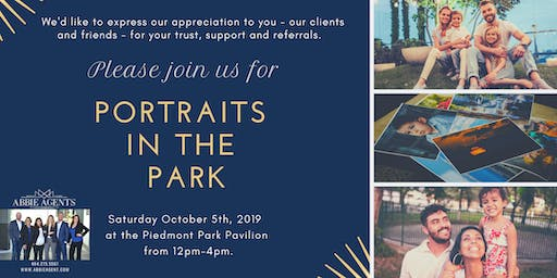 Portraits in the Park at KW Family Fest 2019