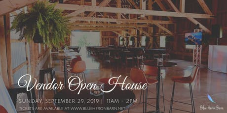 Blue Heron Barn Vendor Open House tickets