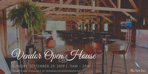 Blue Heron Barn Vendor Open House