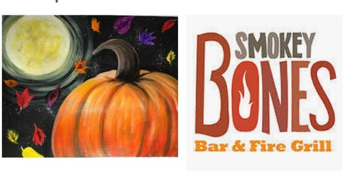 Sold Out! Pumpkin Adult Paint Event /Taunton $15