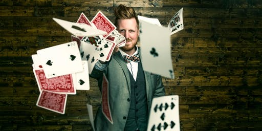 As Seen on FOOL US!   John Michael Hinton @ J&B Magic Theater