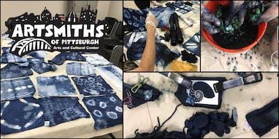 Learn Shibori-Indigo Fabric Dying with LaVerne Kemp