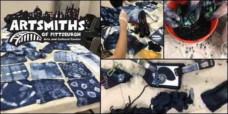 Learn Shibori-Indigo Fabric Dying with LaVerne Kemp tickets