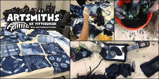 Learn Shibori-Indigo Fabric Dying with LaVerne Kemp