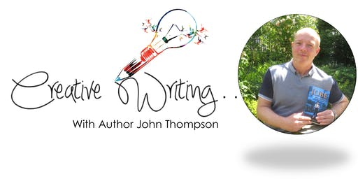 Free Creative Writing Workshop with Author John Thompson,  Liverpool, all aged14 years +