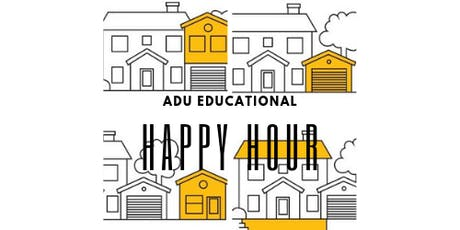Informational ADU HAPPY HOUR tickets