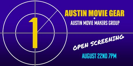 AMG Studio: FREE Open Screening Night!!! tickets