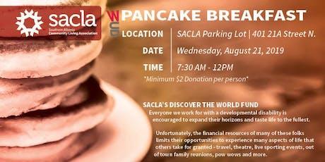 SACLA Whoop-Up Days Charity Pancake Breakfast 2019 tickets