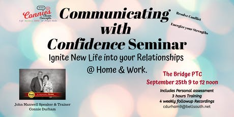 Communicating with Confidence Seminar tickets